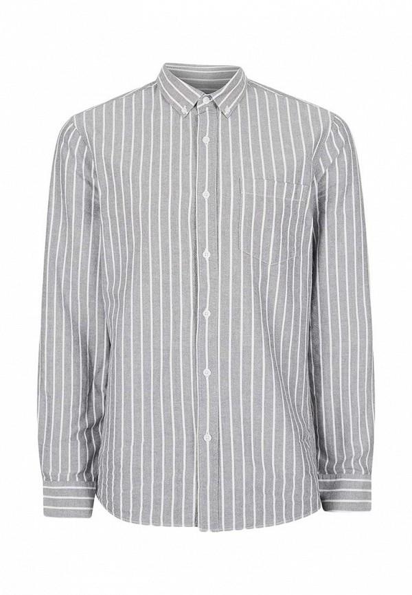 Рубашка с длинным рукавом Topman (Топмэн) 83U02LGRY