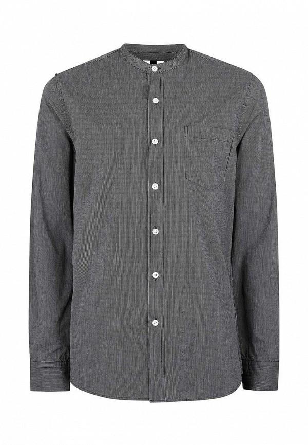 Рубашка с длинным рукавом Topman (Топмэн) 83U08LBLK