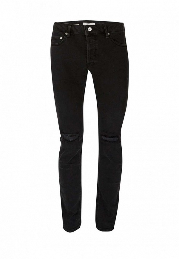 Зауженные джинсы Topman (Топмэн) 69C18NBLK