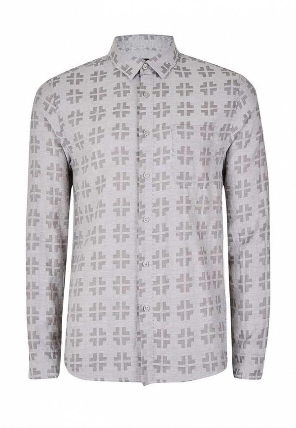 Рубашка с длинным рукавом Topman (Топмэн) 83U09MGRY