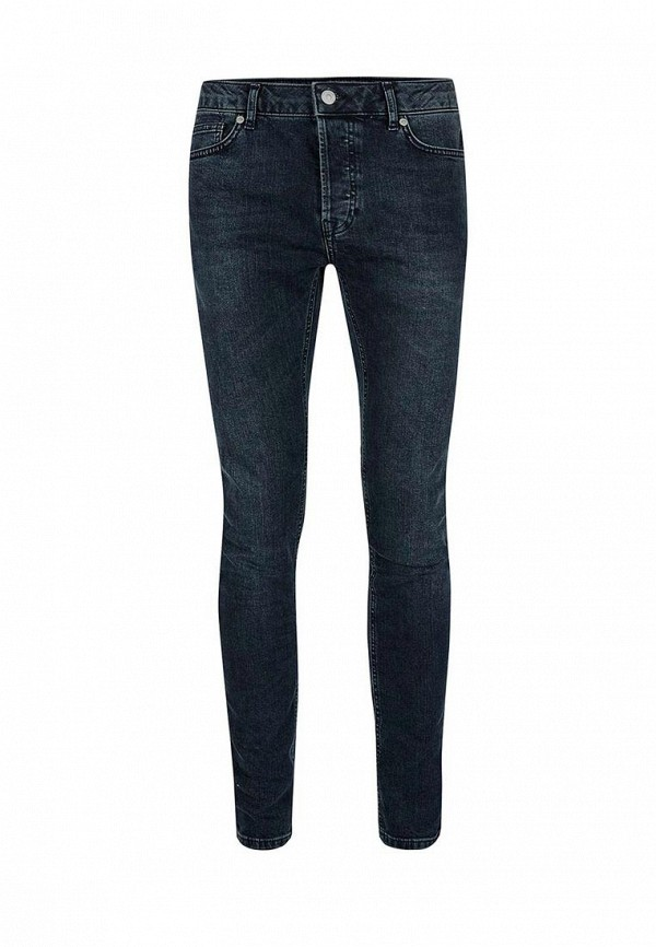 Зауженные джинсы Topman (Топмэн) 69B30NBLK