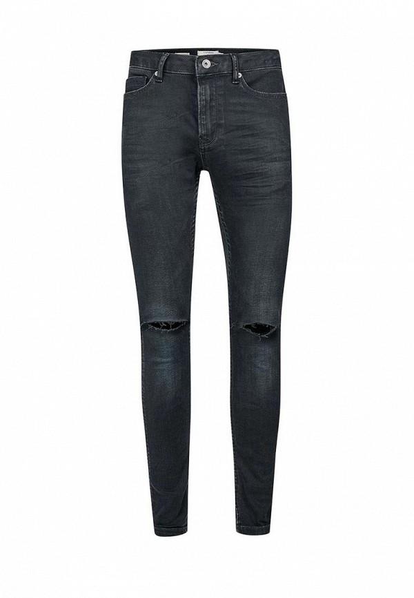 Зауженные джинсы Topman (Топмэн) 69D07NDST