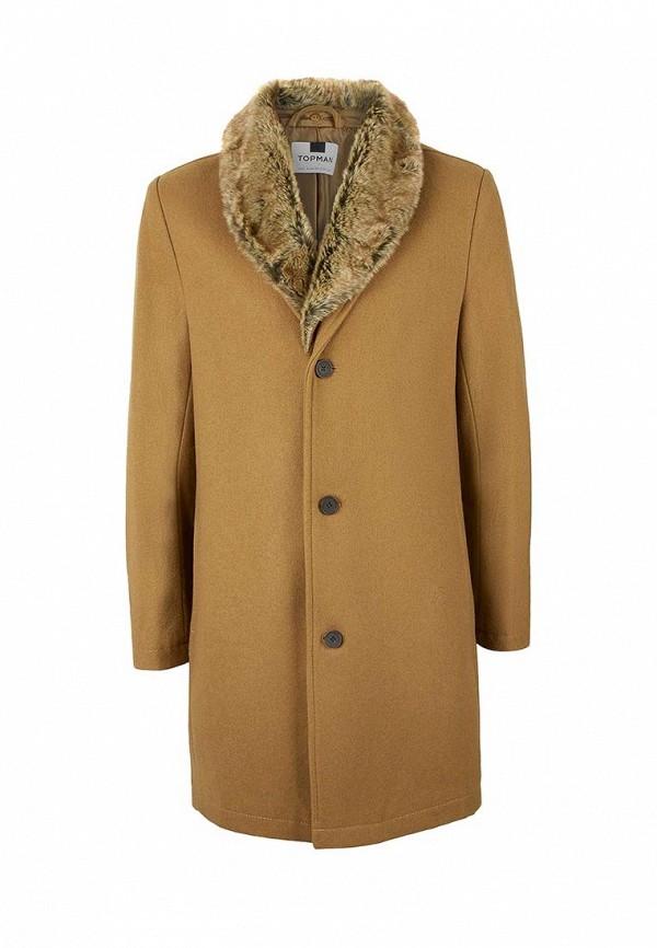 Пальто утепленное Topman 64D05ACAM