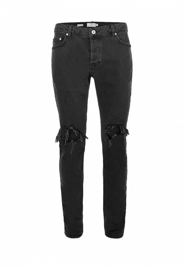 Зауженные джинсы Topman (Топмэн) 69B11OBLK
