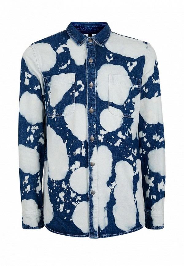 Рубашка с длинным рукавом Topman (Топмэн) 83O01NBLE