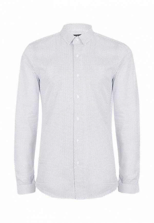 Рубашка с длинным рукавом Topman (Топмэн) 84H34MWHT