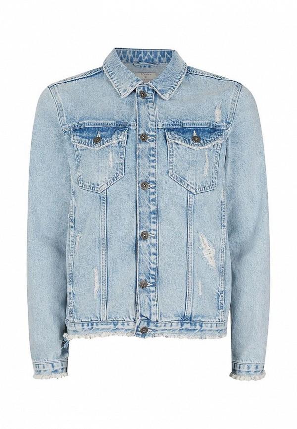 Джинсовая куртка Topman (Топмэн) 64P82LBLE