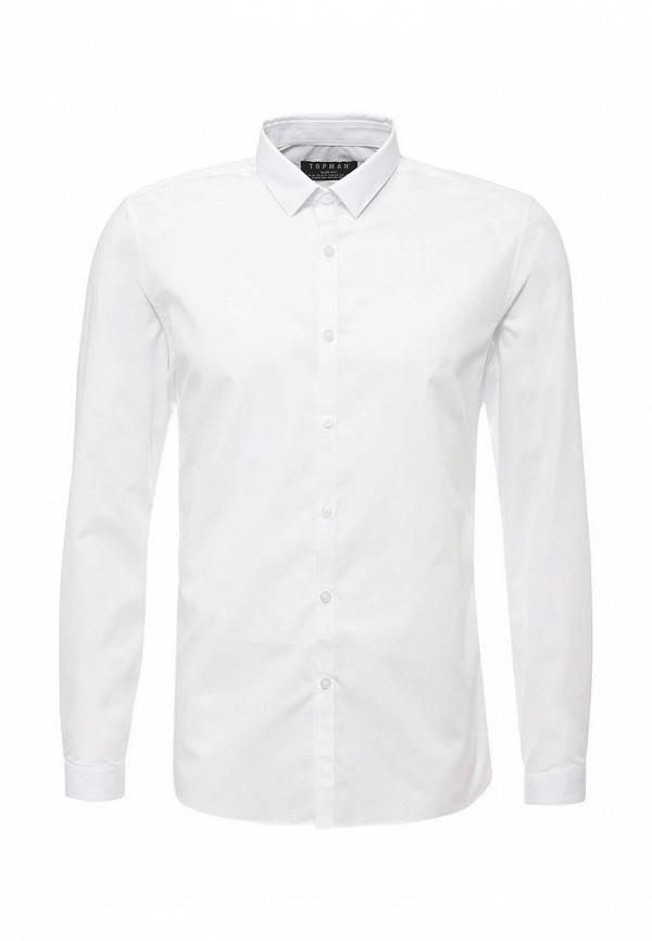 Рубашка с длинным рукавом Topman (Топмэн) 84L07NWHT