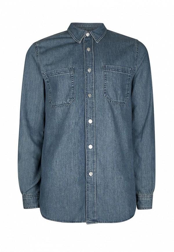Рубашка джинсовая Topman Topman TO030EMUBU54 рубашка topman topman to030emubu53