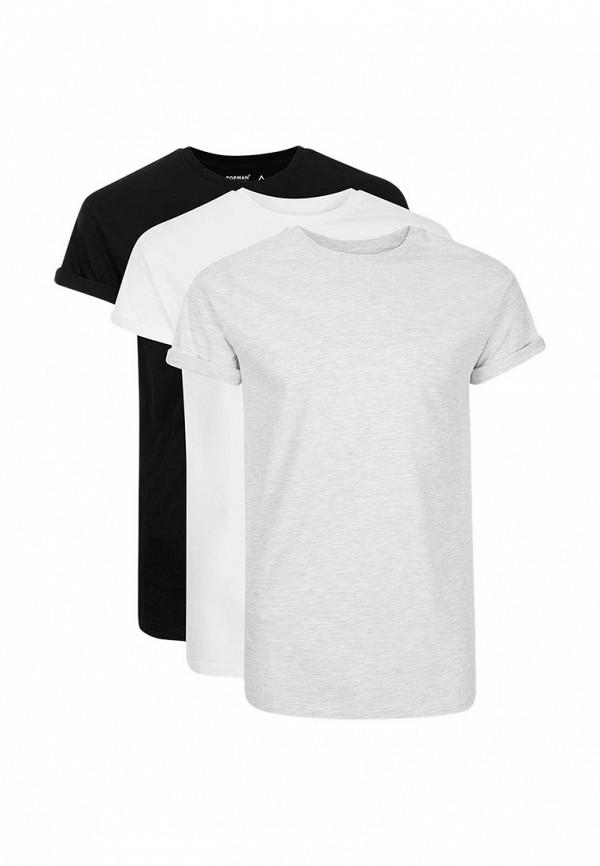Комплект футболок 3 шт. Topman Topman TO030EMUGA56 фонарь налобный яркий луч lh 030 черный