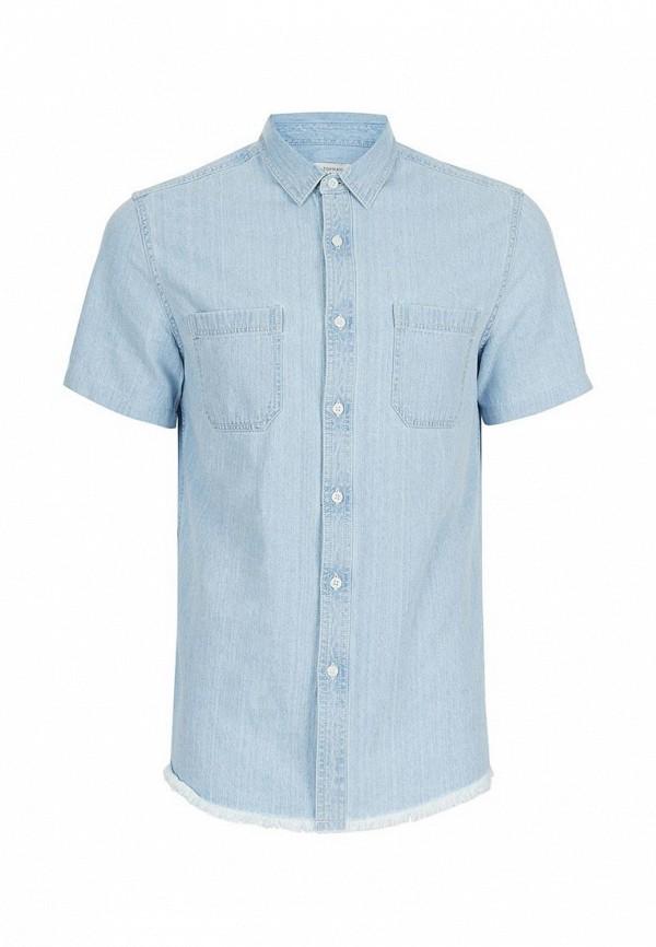 Рубашка джинсовая Topman Topman TO030EMUWS34 topman 73p05mble