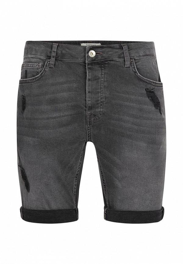 Шорты джинсовые Topman Topman TO030EMUZS08 шорты topman topman to030emtqv42