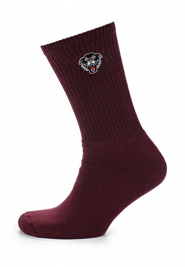 Носки  бордовый цвета