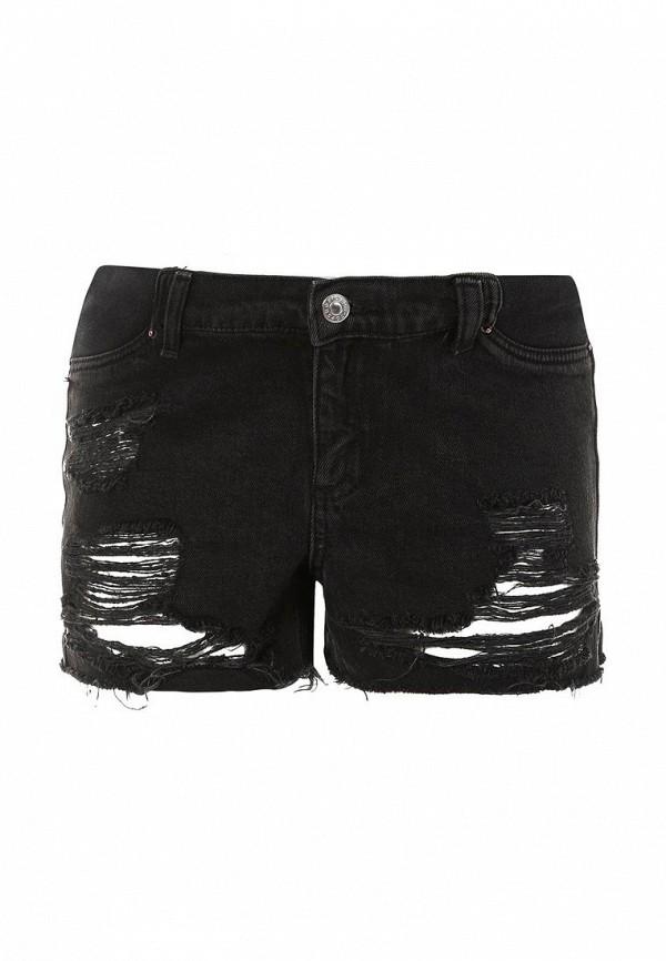 Шорты джинсовые Topshop Maternity. Цвет: черный