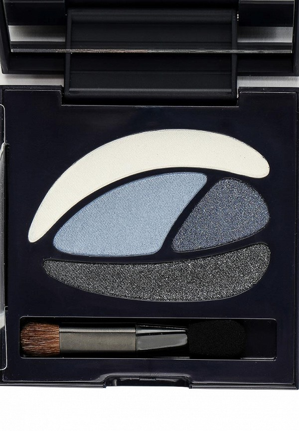 Палитра Touch in Sol теней для век Ideal Visual Multi Color Eye Shadow, №3 Smoky Blue 8 г