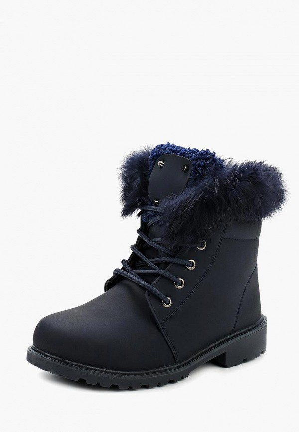 Фото - женские ботинки и полуботинки Topland синего цвета