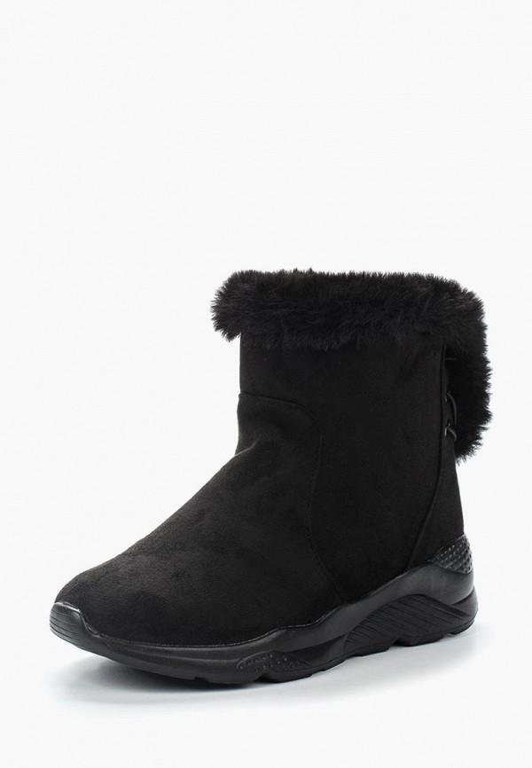 Фото - женские ботинки и полуботинки Topland черного цвета