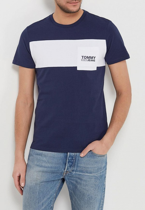 Футболка Tommy Jeans Tommy Jeans TO052EMAIHN5 шорты для плавания tommy jeans tommy jeans to052emaiih2