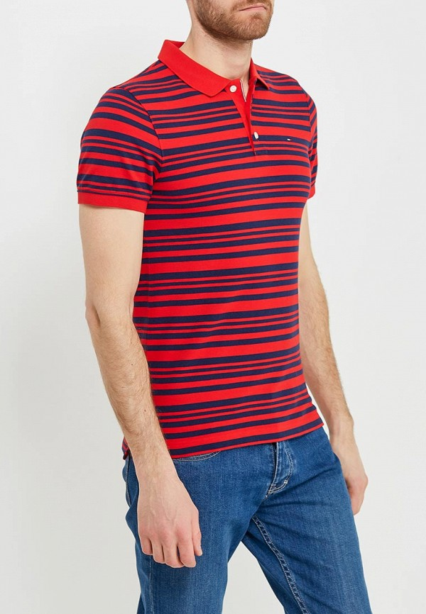 Поло Tommy Jeans Tommy Jeans TO052EMAIHQ9 поло tommy jeans tommy jeans to052ewaijb4