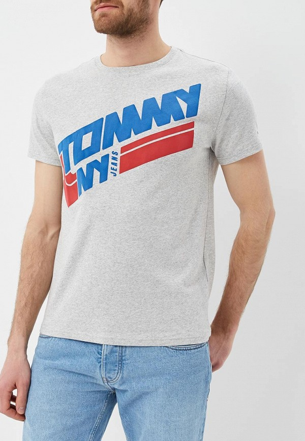 Футболка Tommy Jeans Tommy Jeans TO052EMAIIE4 шорты для плавания tommy jeans tommy jeans to052emaiii4