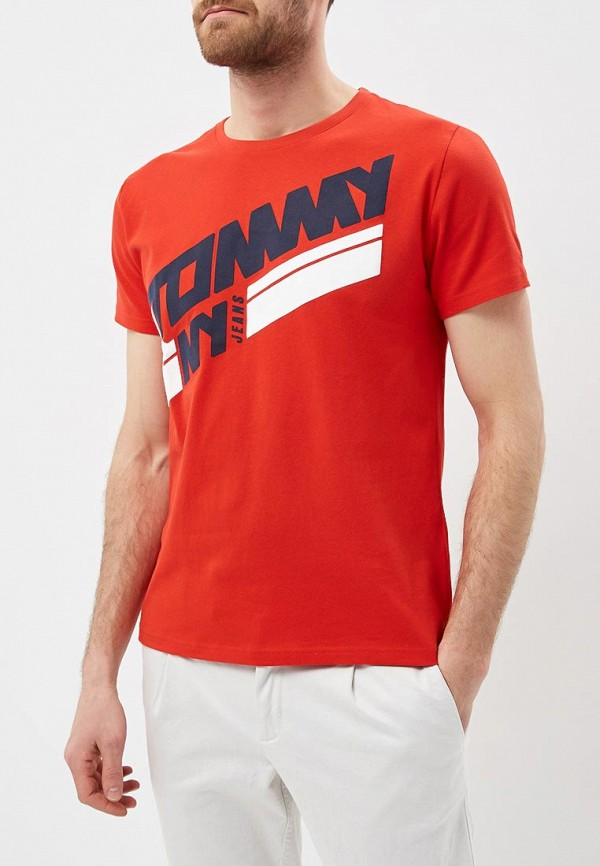 Футболка Tommy Jeans Tommy Jeans TO052EMAIIE5 шорты для плавания tommy jeans tommy jeans to052emaiii4