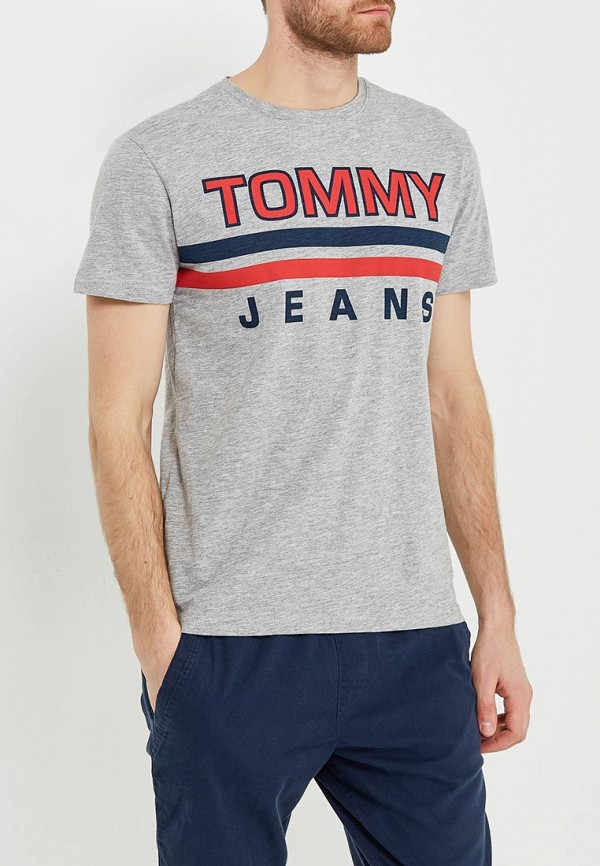 Футболка Tommy Jeans Tommy Jeans TO052EMAIIF2 шорты для плавания tommy jeans tommy jeans to052emaiii4