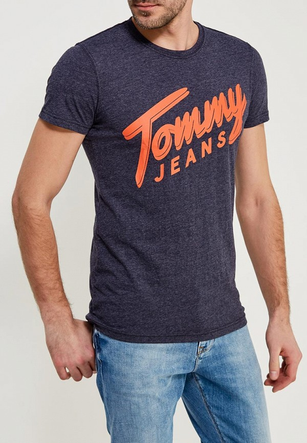 Футболка Tommy Jeans Tommy Jeans TO052EMYZW50 поло tommy jeans tommy jeans to052ewaijb4