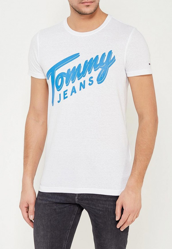 Футболка Tommy Jeans Tommy Jeans TO052EMYZW51 поло tommy jeans tommy jeans to052ewaijb4