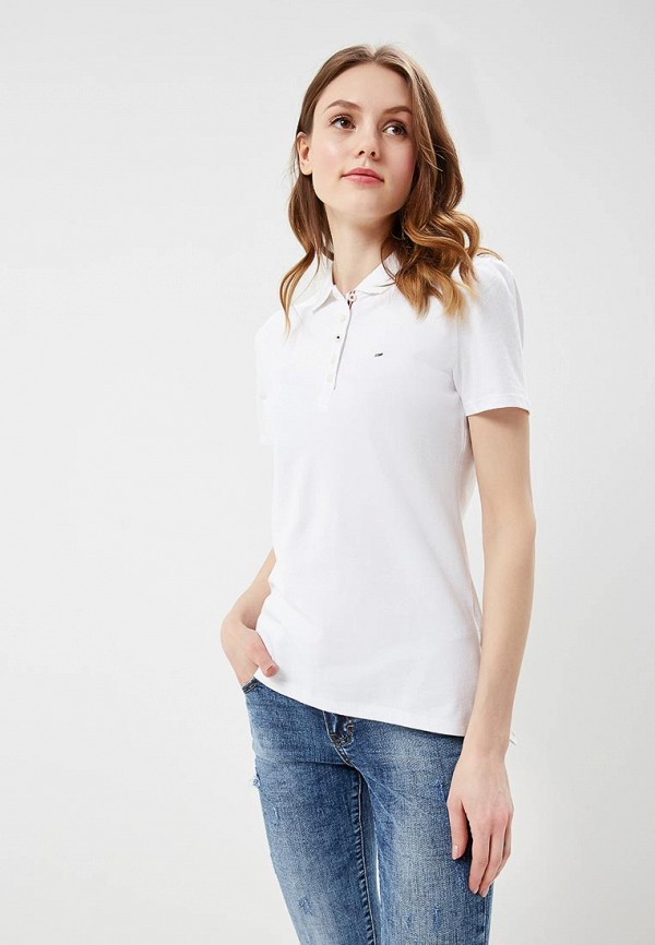 Поло Tommy Jeans Tommy Jeans TO052EWAIII5 поло tommy jeans tommy jeans to052ewaijb4