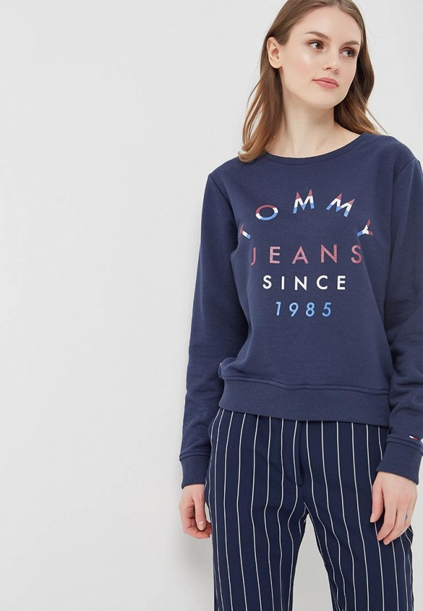 Свитшот Tommy Jeans Tommy Jeans TO052EWAIIL3 свитшот tommy jeans tommy jeans to013emyzs95