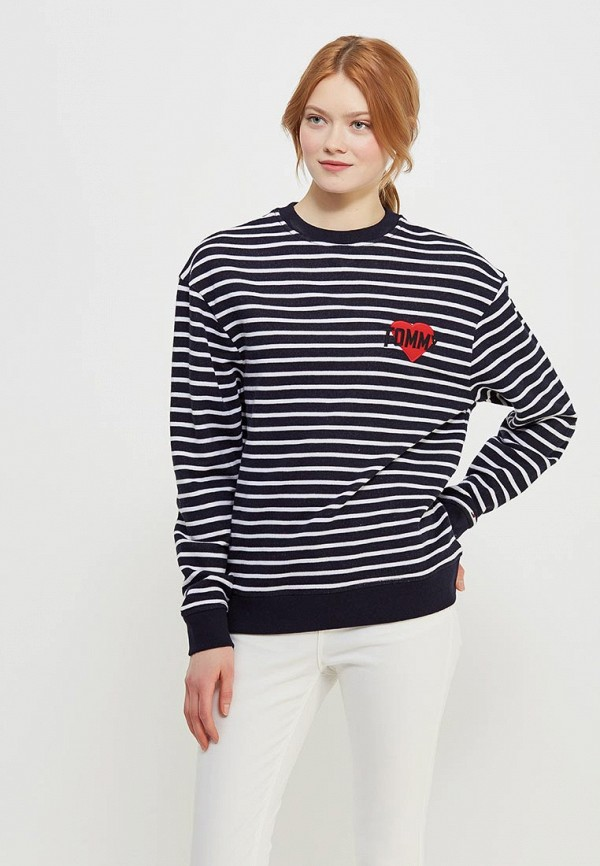 Свитшот Tommy Jeans Tommy Jeans TO052EWAIIL8 свитшот tommy jeans tommy jeans to013emyzs95