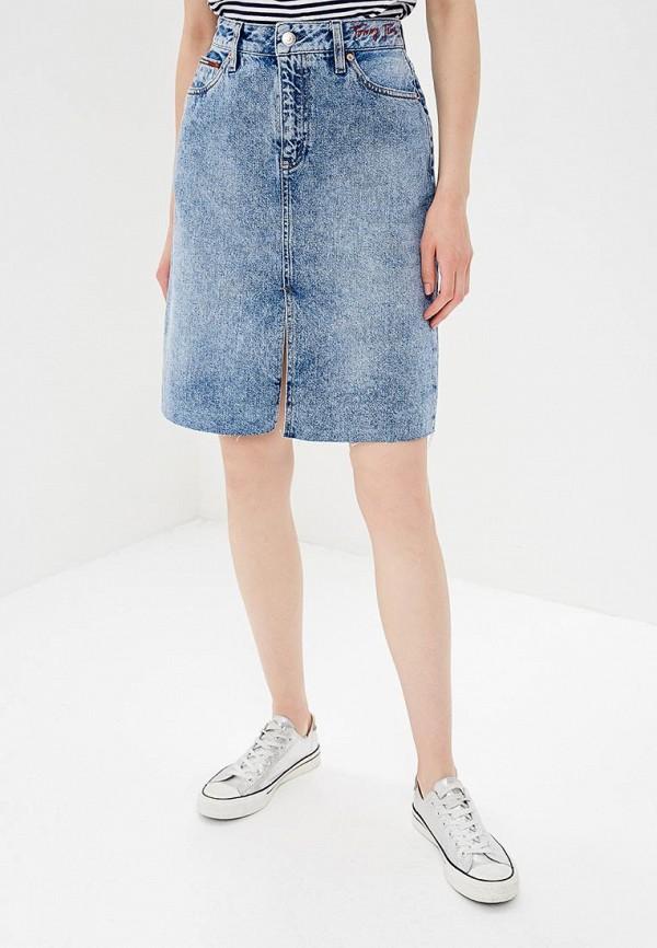 Фото Юбка джинсовая Tommy Jeans. Купить с доставкой