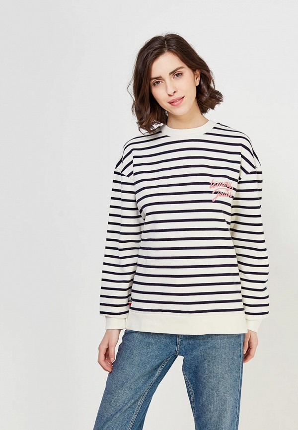 Свитшот Tommy Jeans Tommy Jeans TO052EWZFW57 поло tommy jeans tommy jeans to052ewaijb4