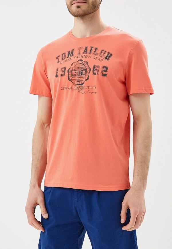Футболка Tom Tailor Tom Tailor TO172EMBEDT3 футболка tom tailor 1037207 00 10 6771