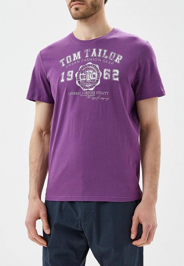 Футболка Tom Tailor Tom Tailor TO172EMBEDT4 футболка tom tailor 1037207 00 10 6771