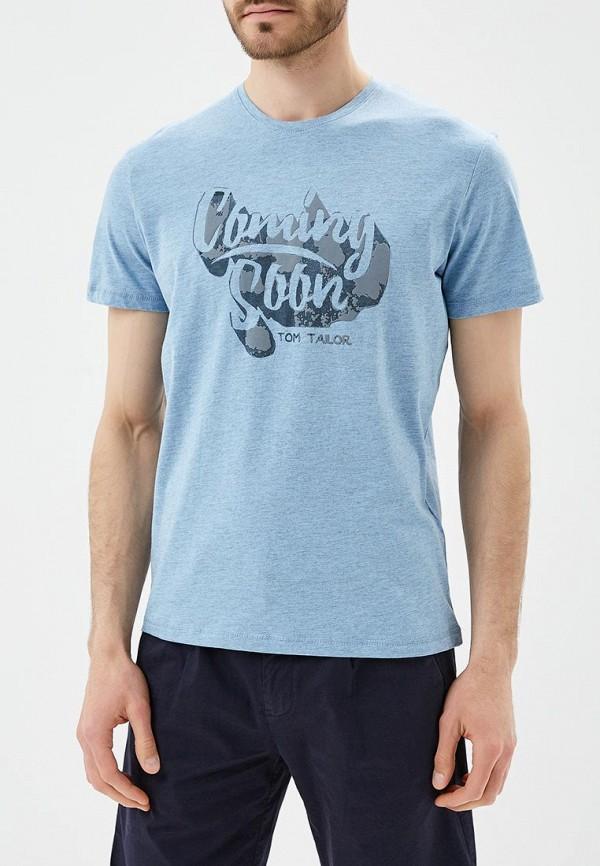 Футболка Tom Tailor Tom Tailor TO172EMBEDT9 футболка tom tailor 1037207 00 10 6771