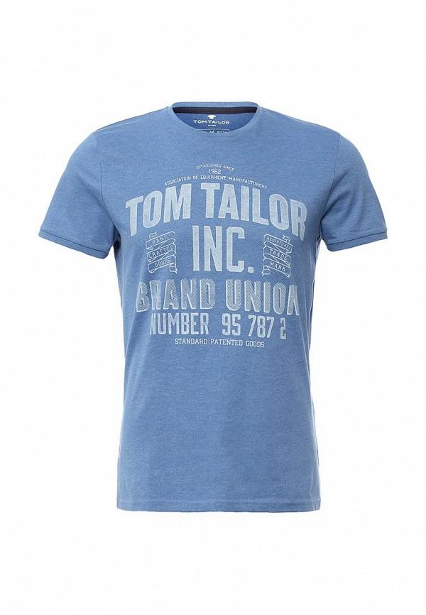 Футболка с надписями Tom Tailor (Том Тейлор) 1033921.09.10