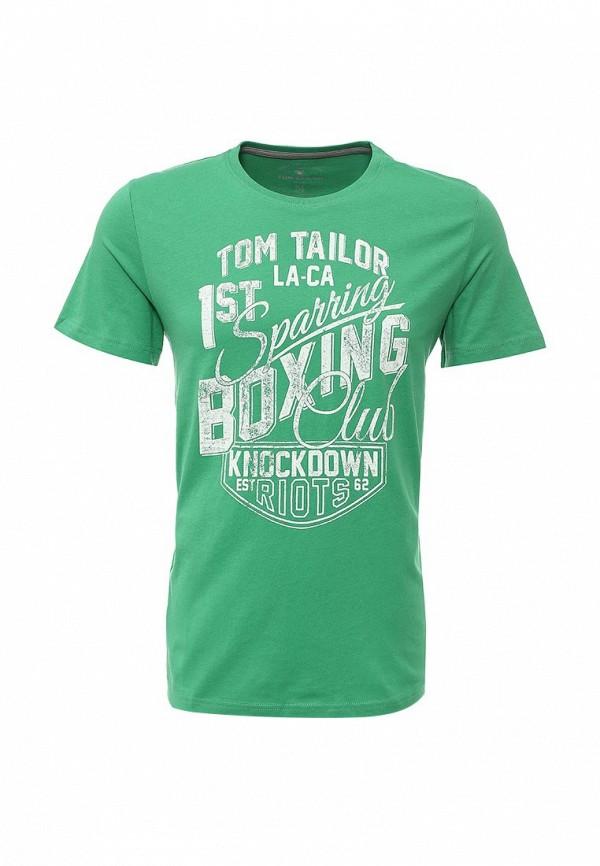 Футболка с надписями Tom Tailor (Том Тейлор) 1033601.00.10