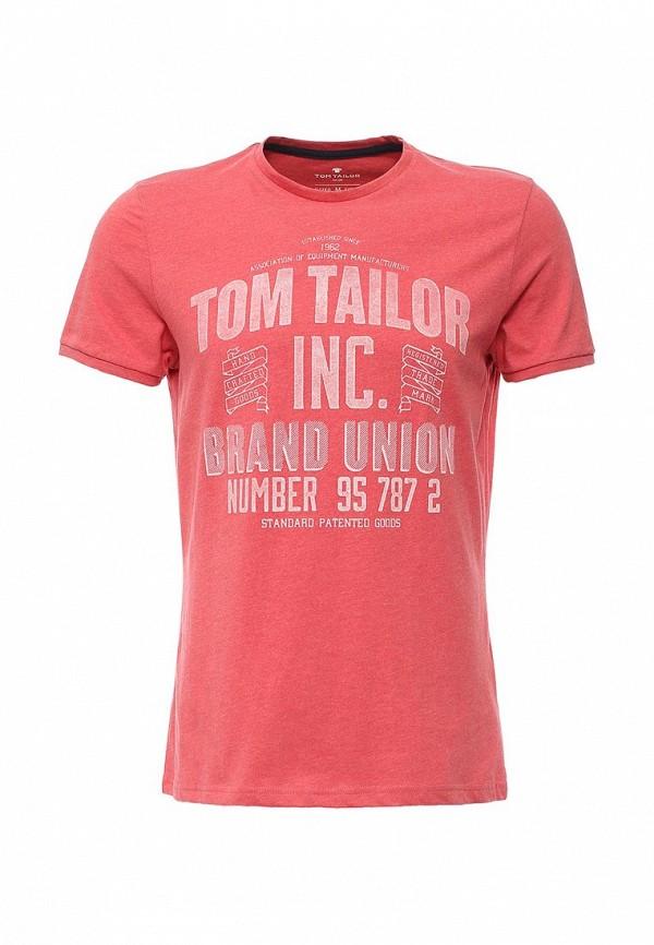 Футболка с надписями Tom Tailor (Том Тейлор) 1033921.00.10
