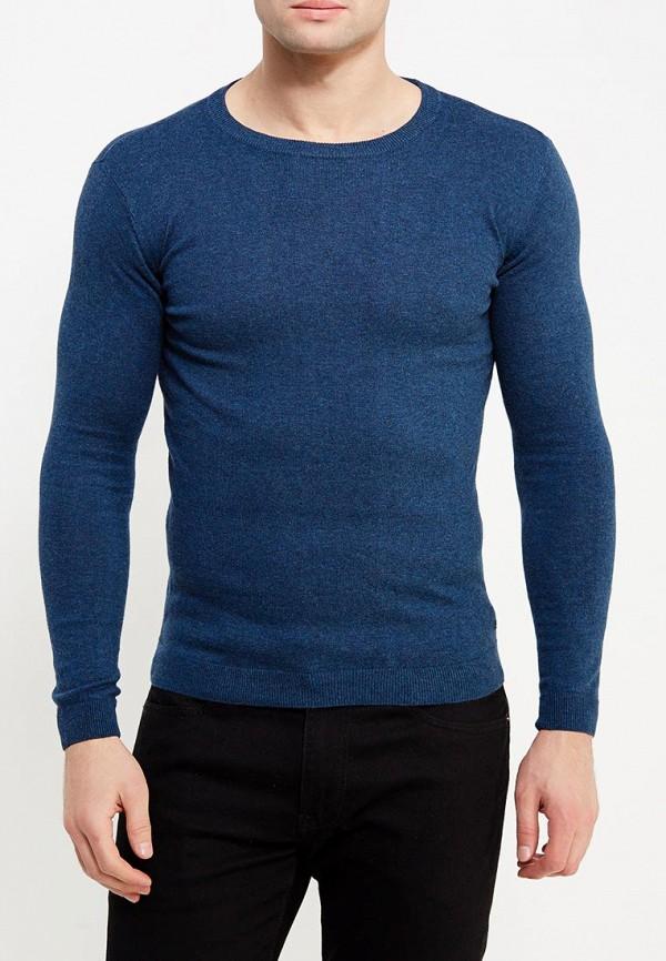 Фото 3 - мужское джемпер Tom Tailor синего цвета