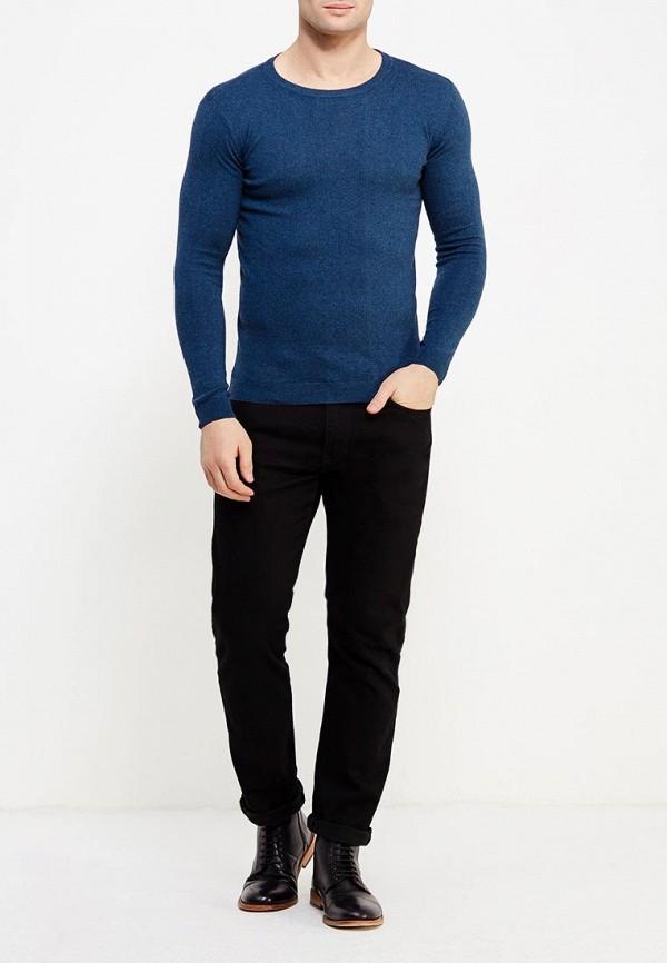 Фото 6 - мужское джемпер Tom Tailor синего цвета
