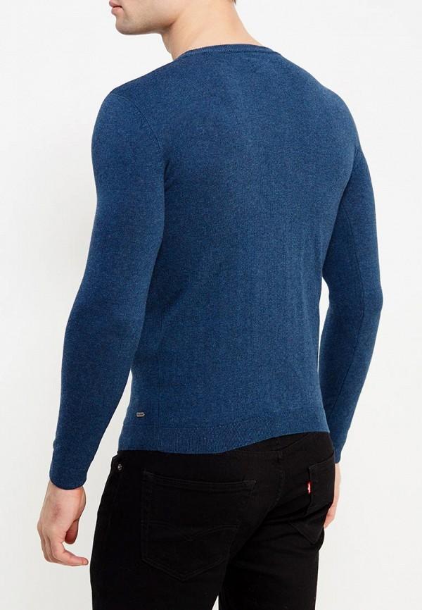 Фото 7 - мужское джемпер Tom Tailor синего цвета