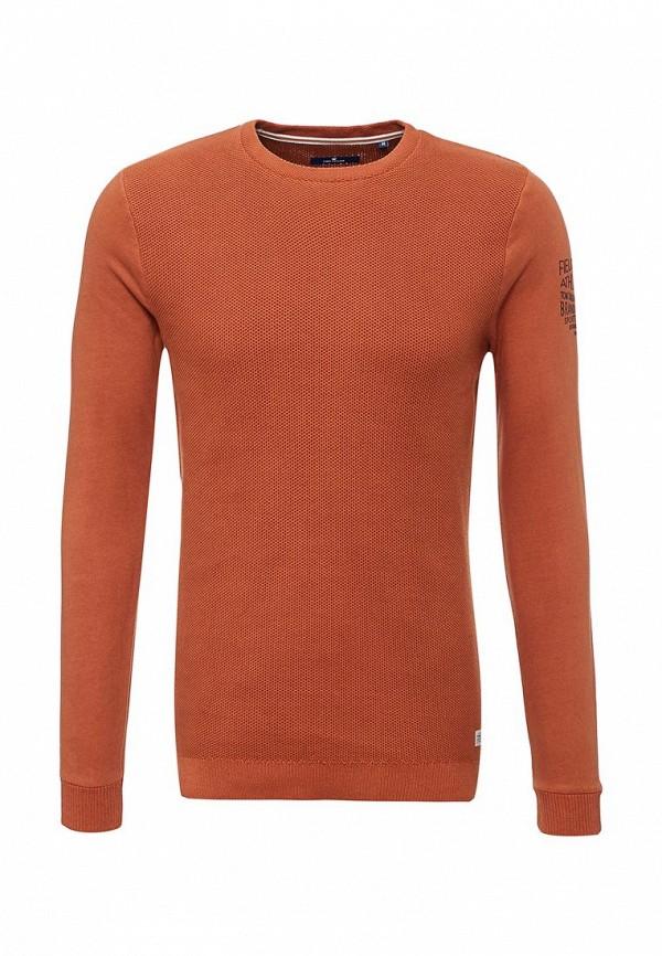 Джемпер Tom Tailor. Цвет: оранжевый