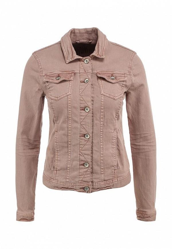 Куртка джинсовая Tom Tailor. Цвет: розовый