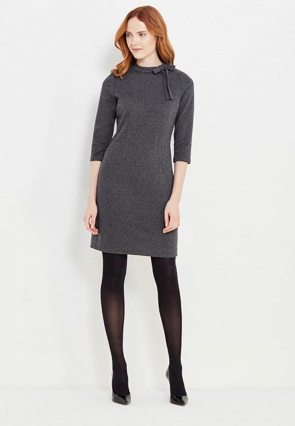 Фото 2 - женское платье Tom Tailor серого цвета