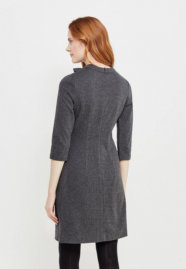 Фото 3 - женское платье Tom Tailor серого цвета