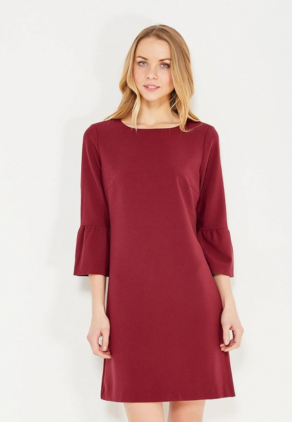 Фото - женское платье Tom Tailor бордового цвета