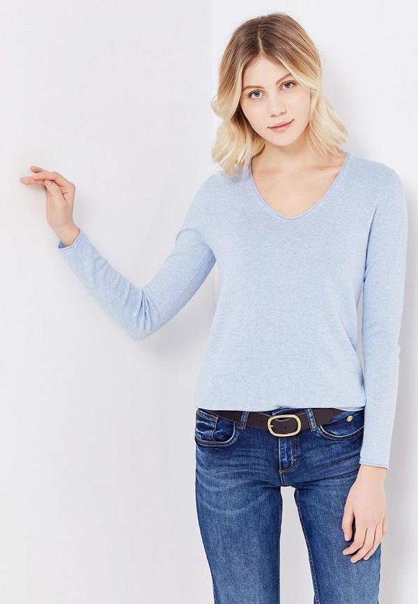 Фото - женский пуловер Tom Tailor голубого цвета