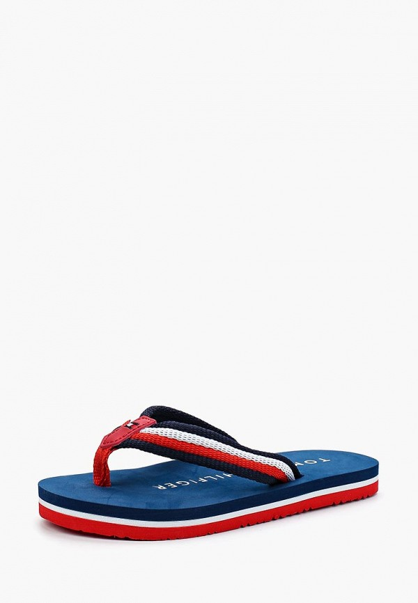 Сланцы Tommy Hilfiger Tommy Hilfiger TO263AKBFDZ7 сланцы tommy hilfiger tommy hilfiger to263awagtj0