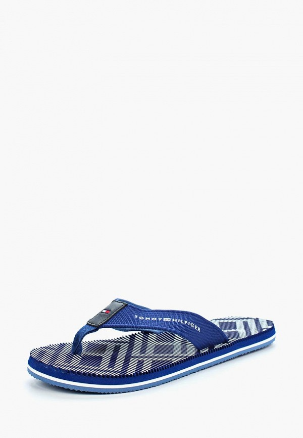 Сланцы Tommy Hilfiger Tommy Hilfiger TO263AMAGBP7 сланцы tommy hilfiger tommy hilfiger to263awagtj0